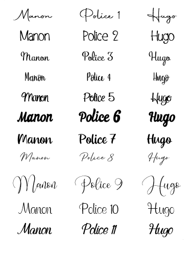 POLICES