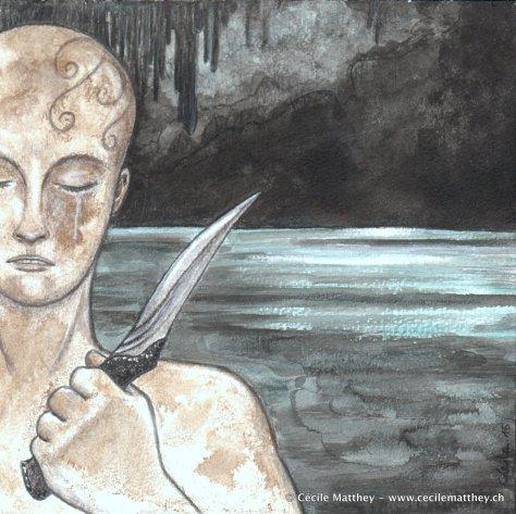 "Illustration pour ""Rustsong"" de Sean R. Robinson (webzine ""The Future Fire"", 2015)"