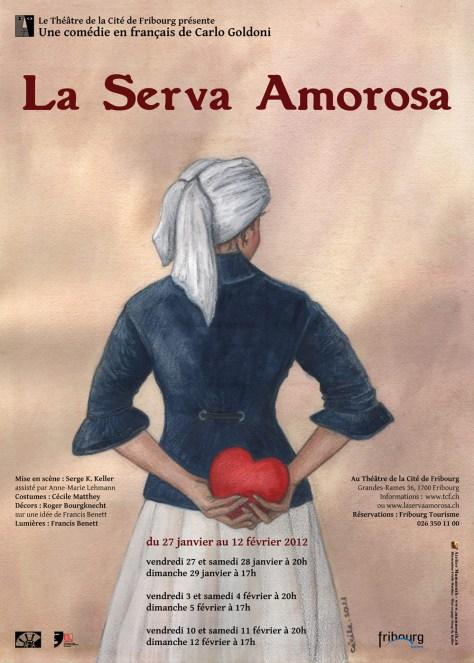 La Serva Amorosa (2012) - Affiche A3