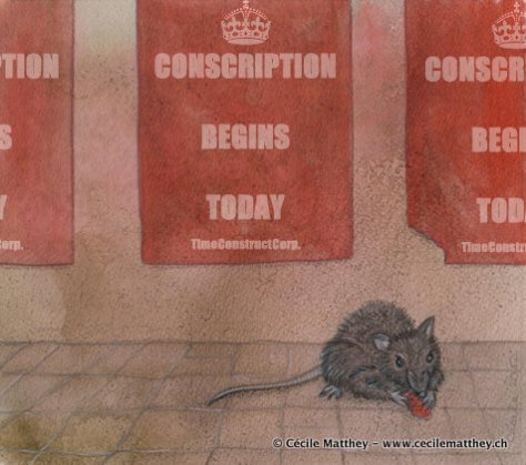 rat and posters