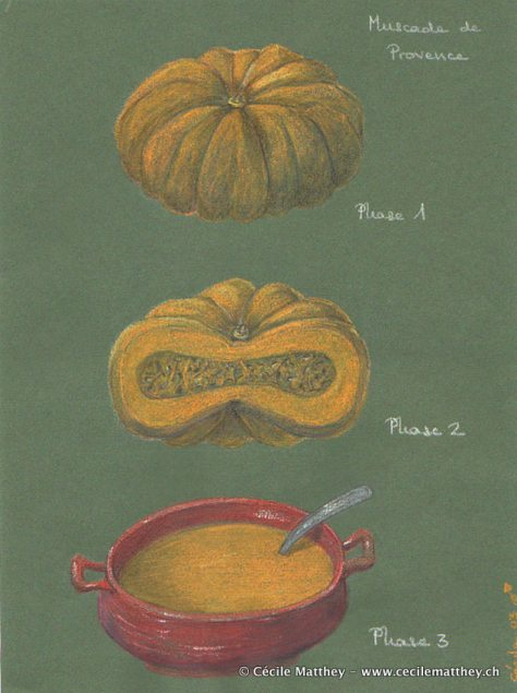 soupe courge