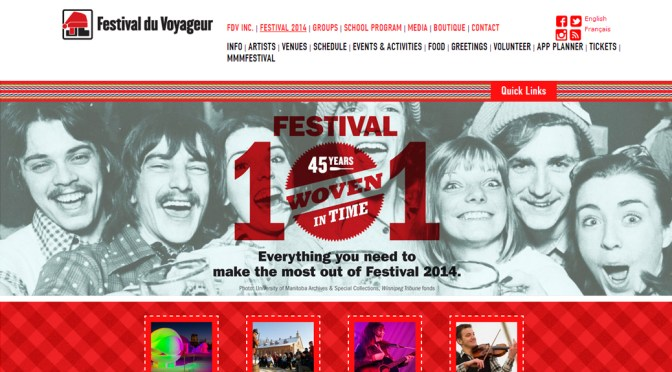 Presque Vu to screen in Winnipeg at the Festival du Voyageur