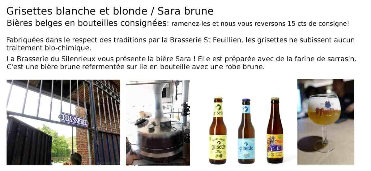 brasserie grisette Sara