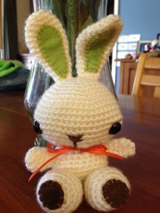 Small Easter bunny