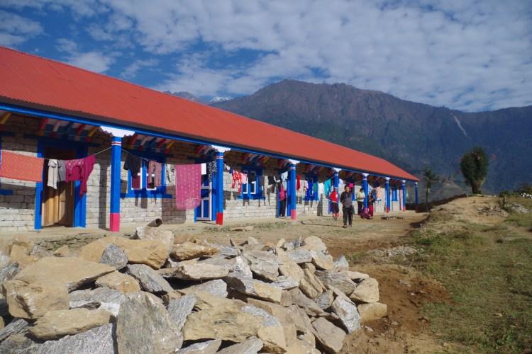 Edificio scolastico a Nunthala