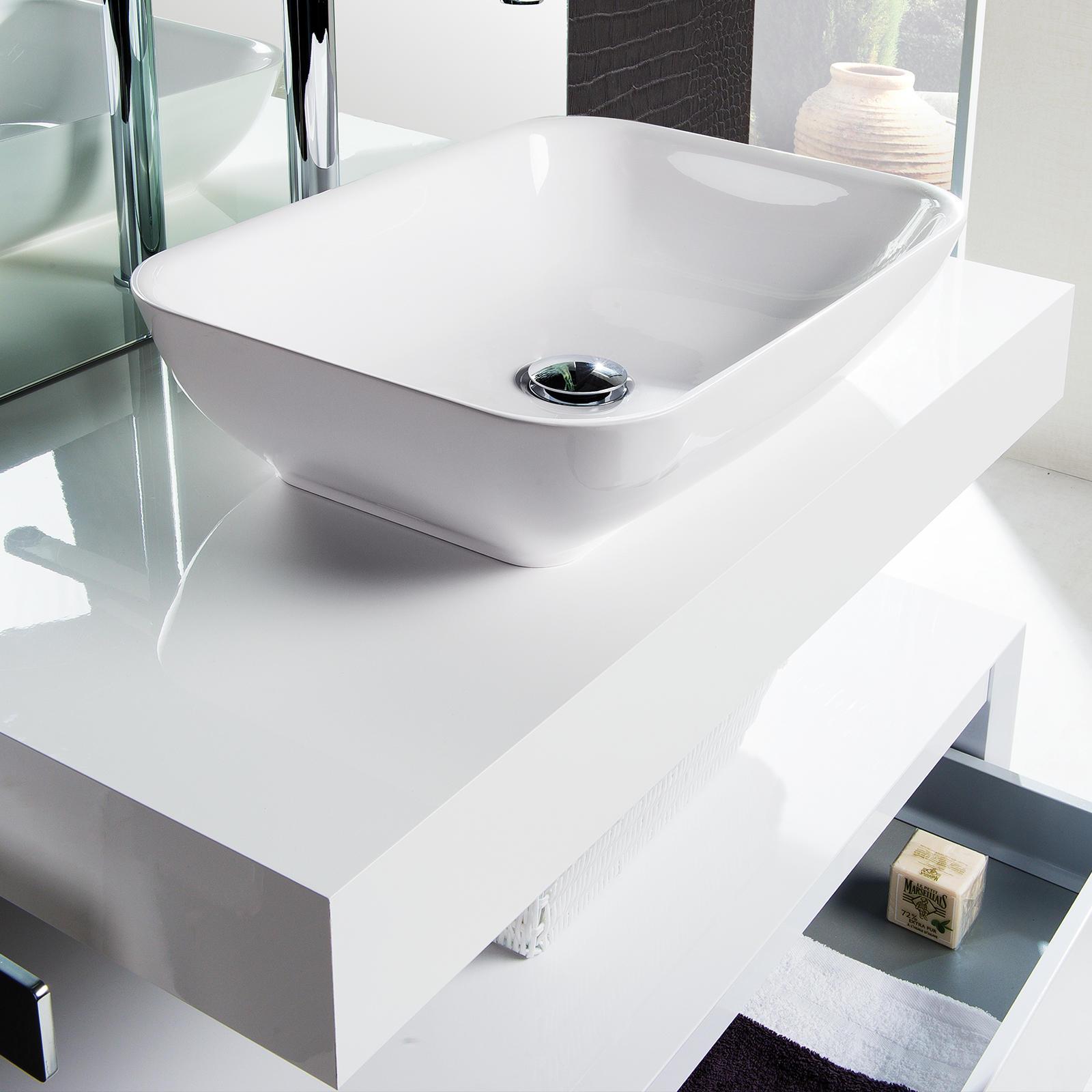 Plan De Toilette Epais Vasque Meubles De Salle De Bains Baignoires Fabricant Francais Cedam