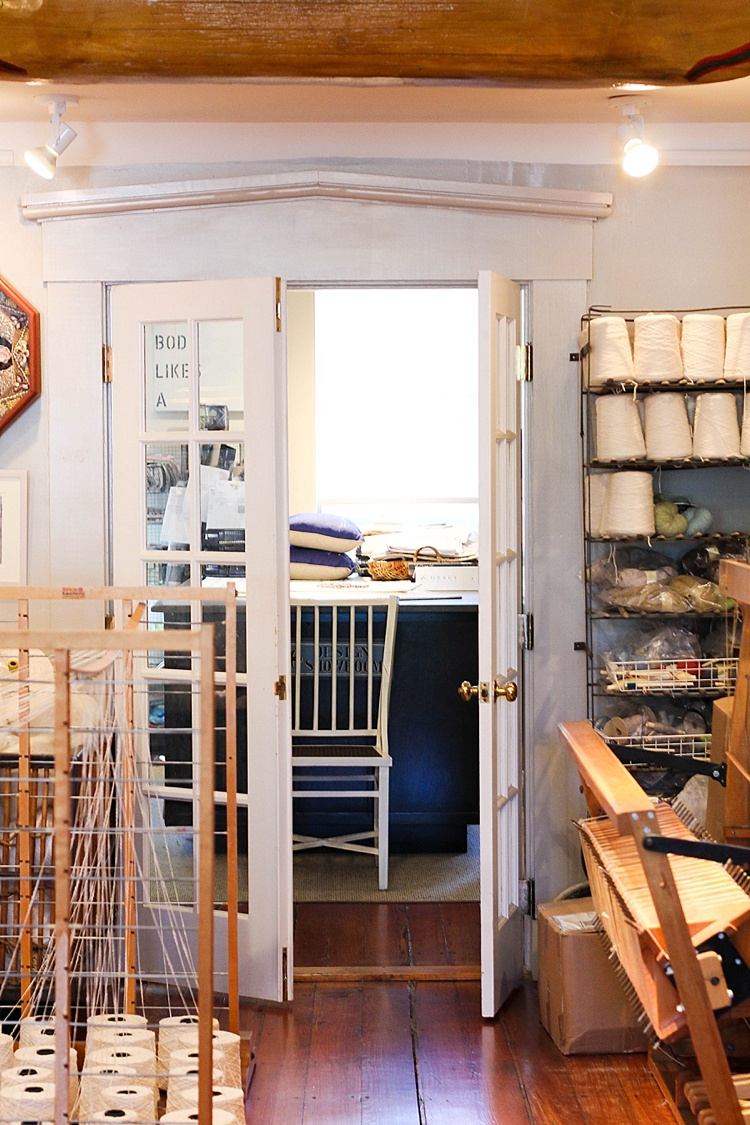 Nantucket Looms, Interior Design, Cottage Style