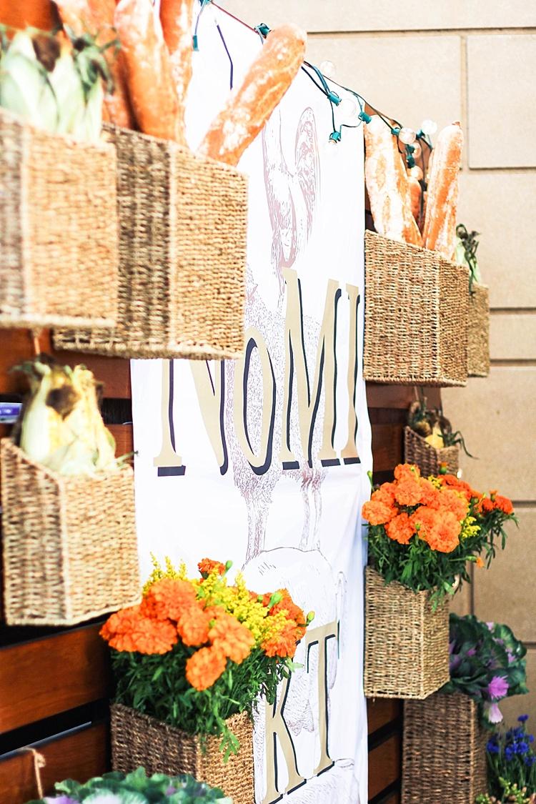 fall party idea, farmers market, nomi, chicago, park hyatt