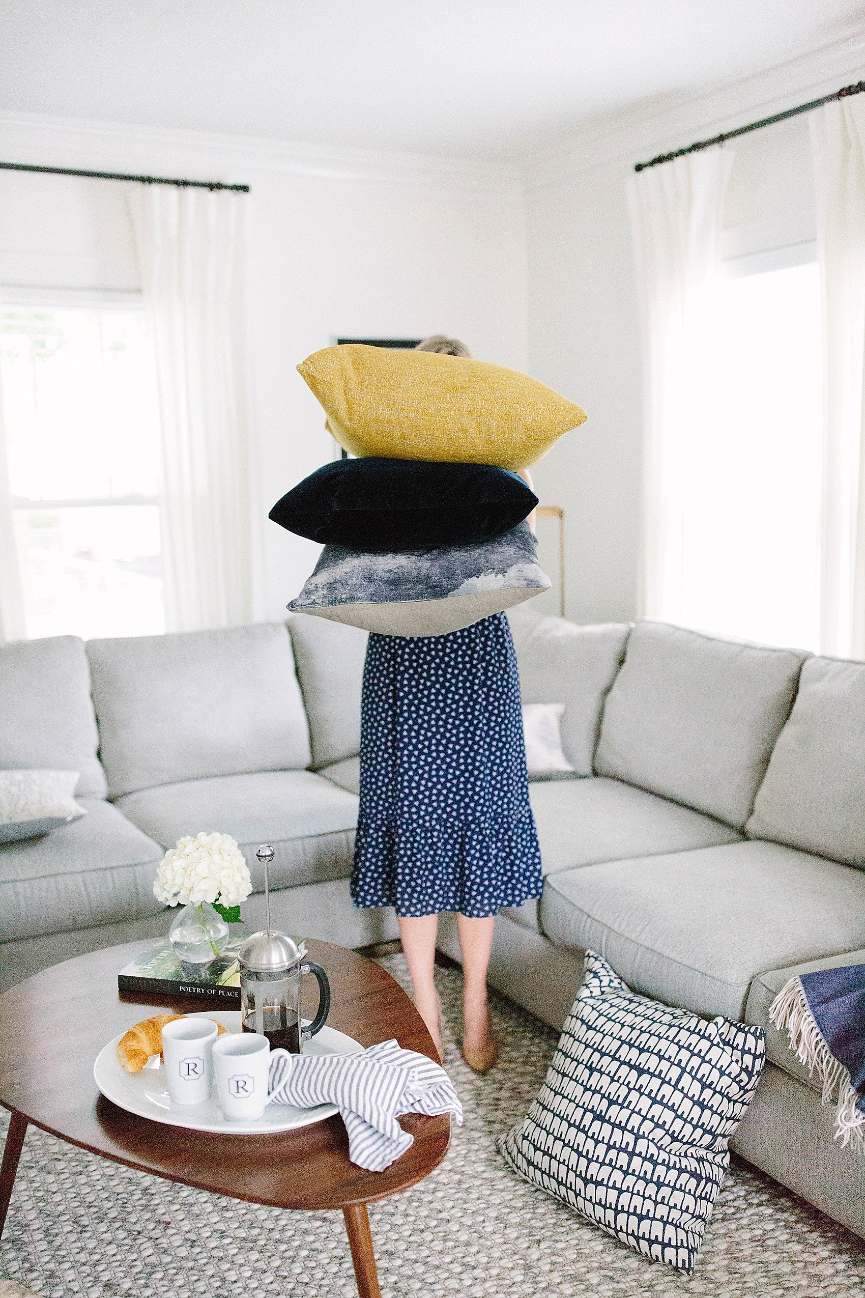 How To Mix Throw Pillows Room U0026 Board