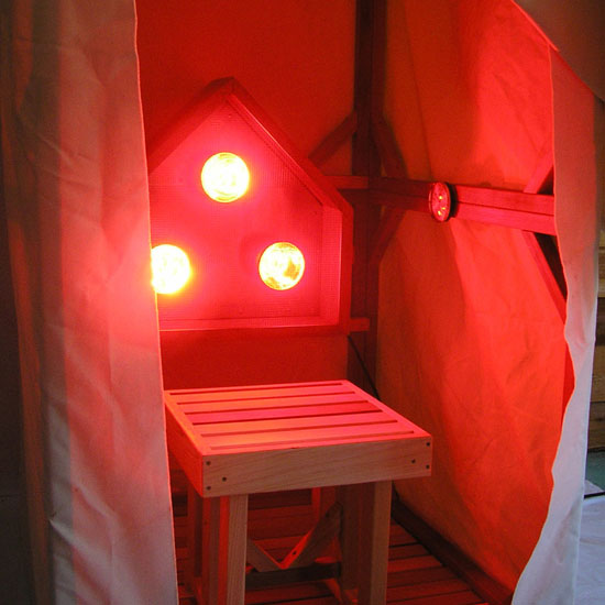 Near Infrared Light Bulbs