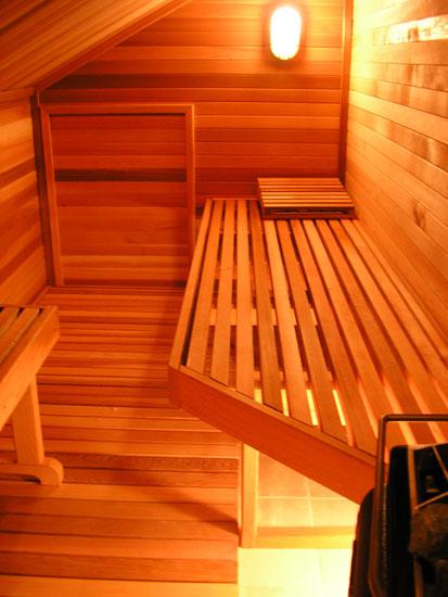 Flush Mount Marine Style Sauna Light Black