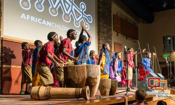 African Children's Choir performs variety of songs, dances ...