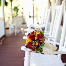 Cedar House Inn Wedding - Rocker Bouquet