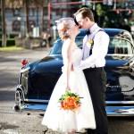 Cedar House Inn Wedding - Classic Car