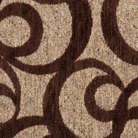 68 Emboss Espresso Fabric