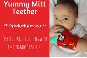 Yummy mitt Teether Review
