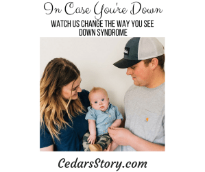 In Case Your're Down- Birth Diagnosis of Down Syndrome