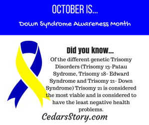 October Down Syndrome Awareness Facts #16