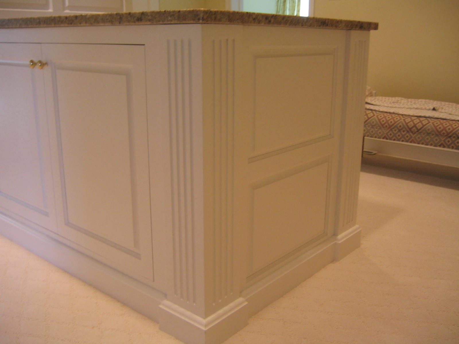 Clear Finish Mahogany. Inset. Ogee Raised Panel Clear Finish Maple. 1 ...