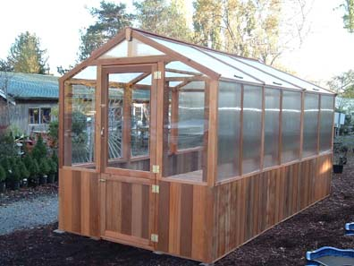 Cedar Greenhouses Add Value And Beauty