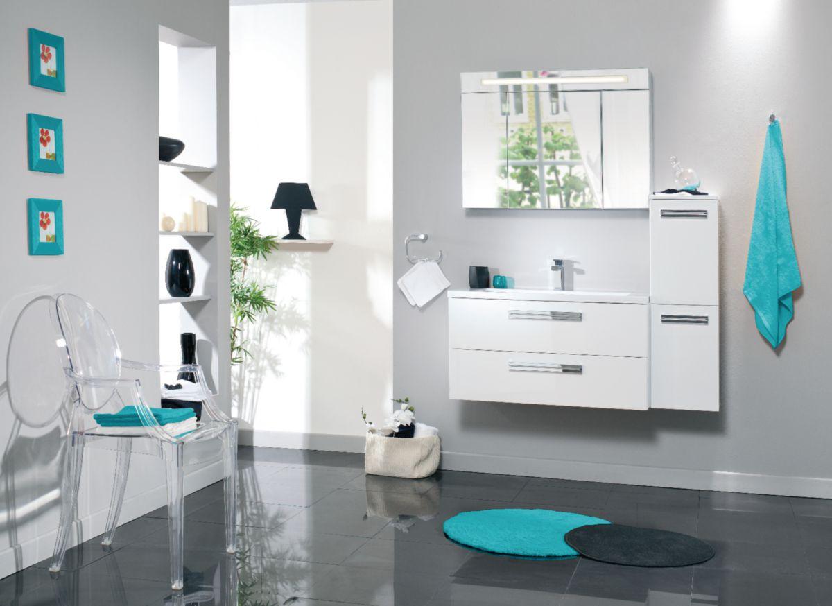ALTERNA Armoire De Toilette SEDUCTA 90 Cm 1 Porte
