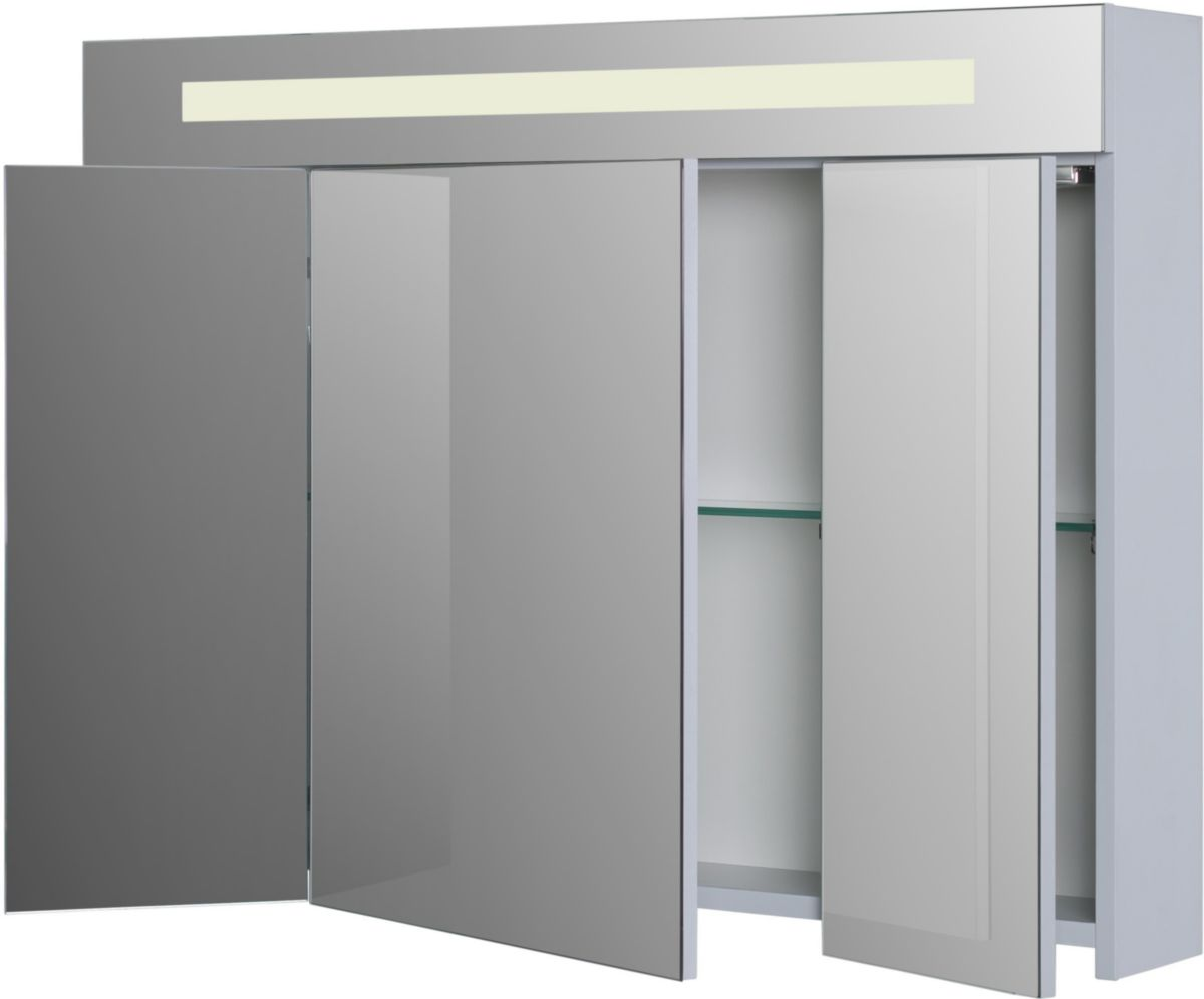Alterna Armoire De Toilette Seducta 90 Cm Avec Eclairage Led Cedeo