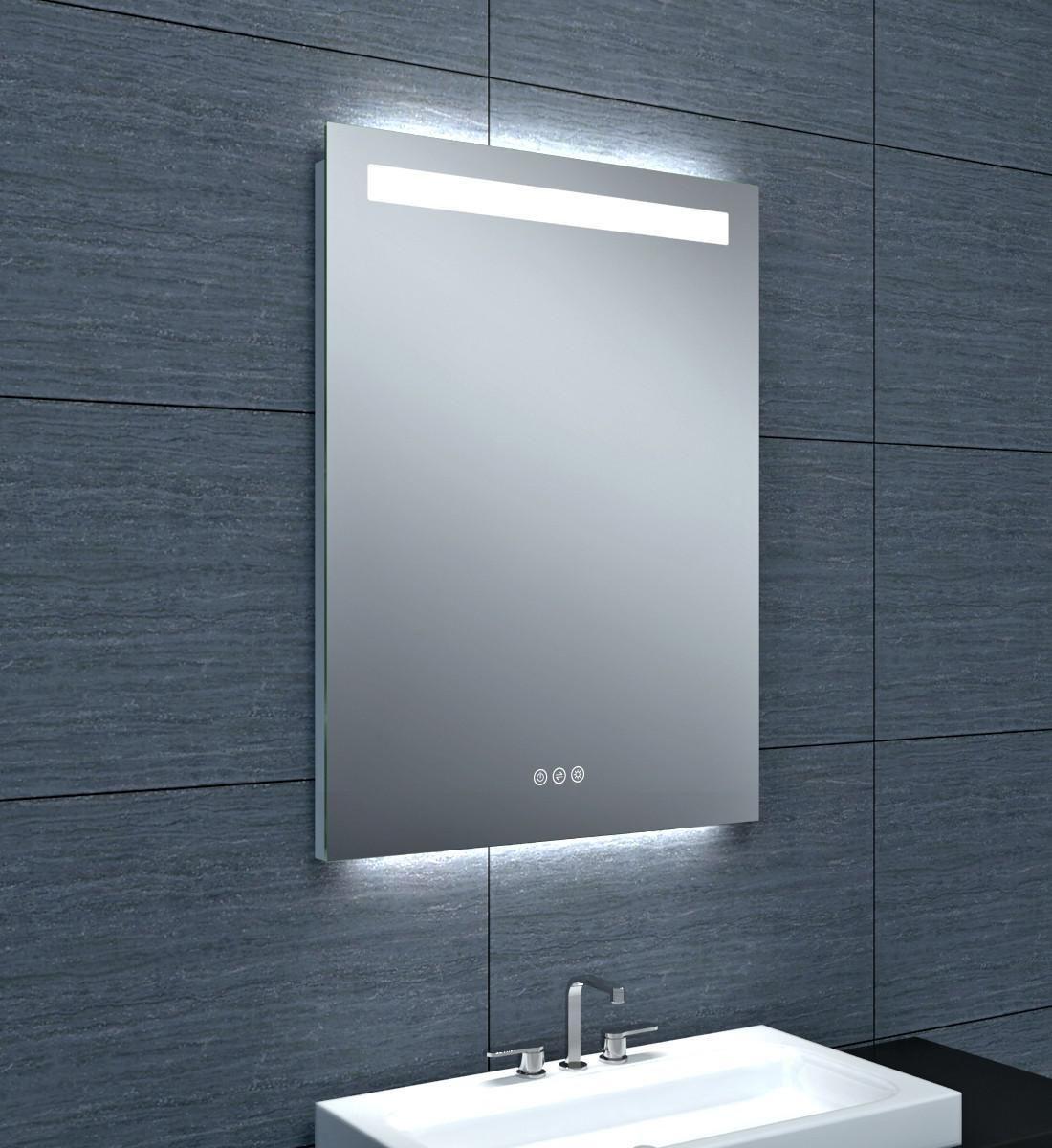 Miroir Tokyo Clairage LED Avec Variateur 60 X Hauteur 80