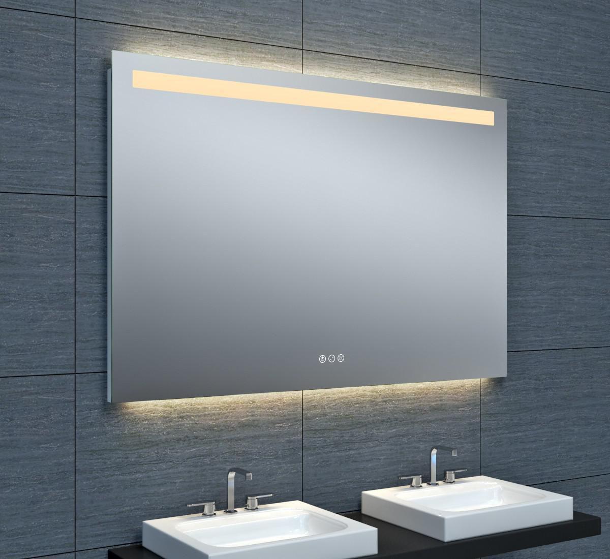 Miroir Tokyo Clairage LED Avec Variateur 120 X Hauteur 80