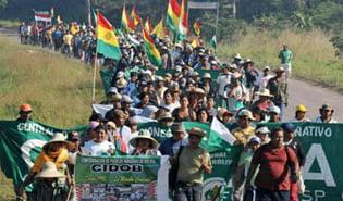 Resolucion de a marcha guarayos