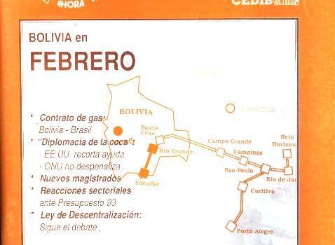 30 Días. Bolivia en febrero 1993