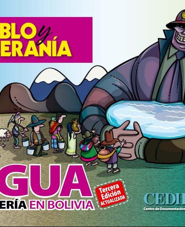 Agua y minería en Bolivia, 3ra edición