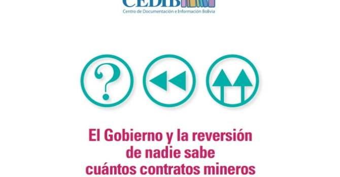 El Gobierno y la reversión de nadie sabe cuántos contratos mineros (Pablo Villegas)