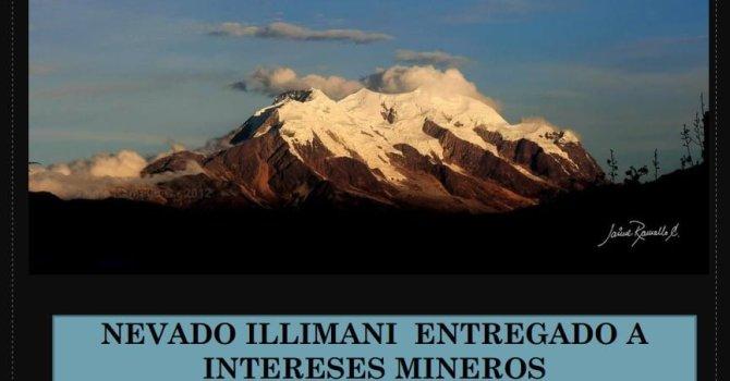 Minería en nevados Bolivia