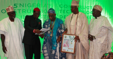 Nigeria's Construction Industry Hall Of Fame Inducts New Members into the Prestigious Club