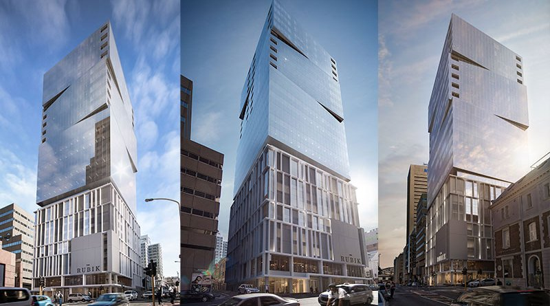 Construction of US $36.2m The Rubik in Cape Town, South Africa begins