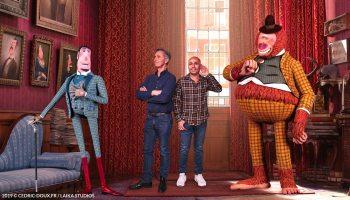 """Photos du film d'animation """"Monsieur Link"""" avec les voix de Thierry Lhermitte et Eric Judor"""