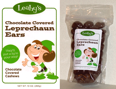 Leahy's Chocolate Covered Leprechaun Ears
