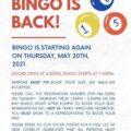 Bingo is back!