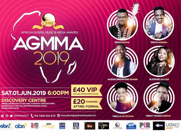 List Of Winners For The Africa Gospel Music & Media Awards