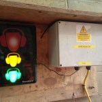 Noise monitoring and warning system at Acton Dive-Under