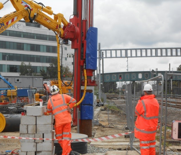 Crossrail: Surface Works Stockley Flyover