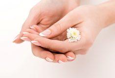 Pękająca skóra na dłoniach