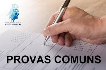 PROVAS COMUNS INTERNAS 2017/2018