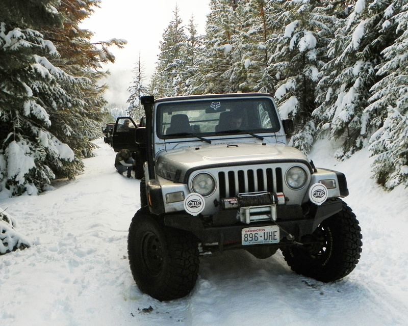 Photos: EWOR Thanksgiving 4x4 Run at the Ahtanum State Forest 4