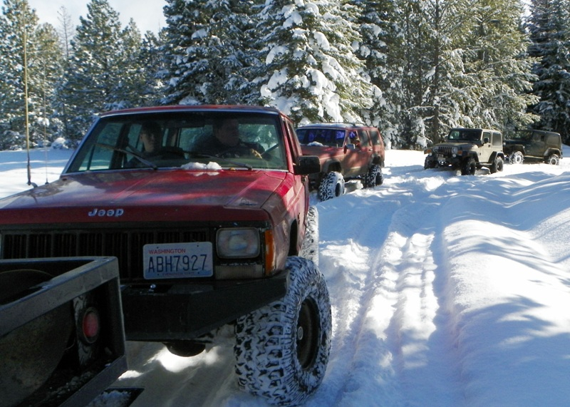 Photos: EWOR Thanksgiving 4x4 Run at the Ahtanum State Forest 9