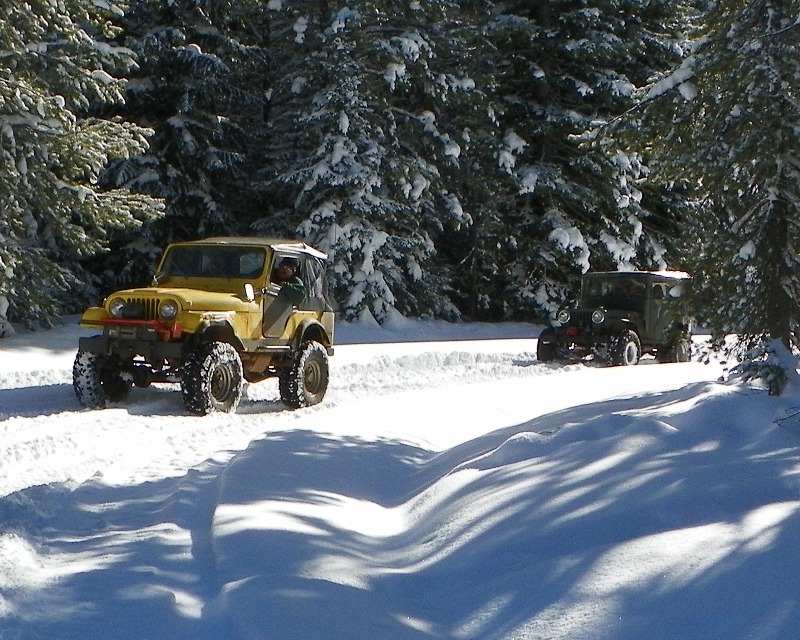 Photos: EWOR Thanksgiving 4x4 Run at the Ahtanum State Forest 11