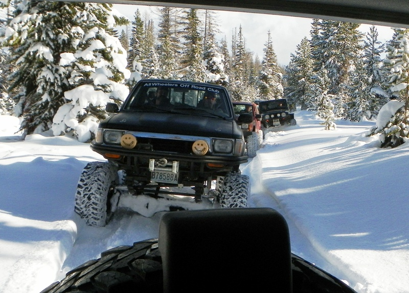 Photos: EWOR Thanksgiving 4x4 Run at the Ahtanum State Forest 16