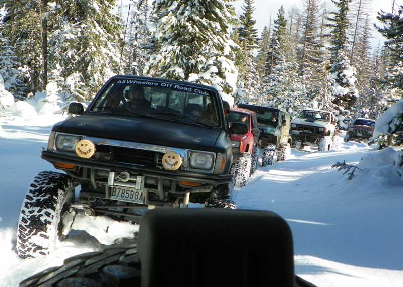Photos: EWOR Thanksgiving 4x4 Run at the Ahtanum State Forest 18