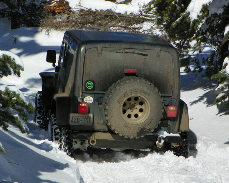Photos: EWOR Thanksgiving 4x4 Run at the Ahtanum State Forest 31