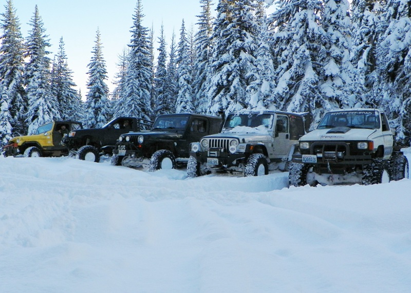Photos: EWOR Thanksgiving 4x4 Run at the Ahtanum State Forest 47